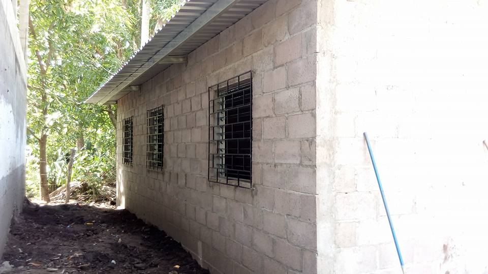 Exterior of house in El Salvador