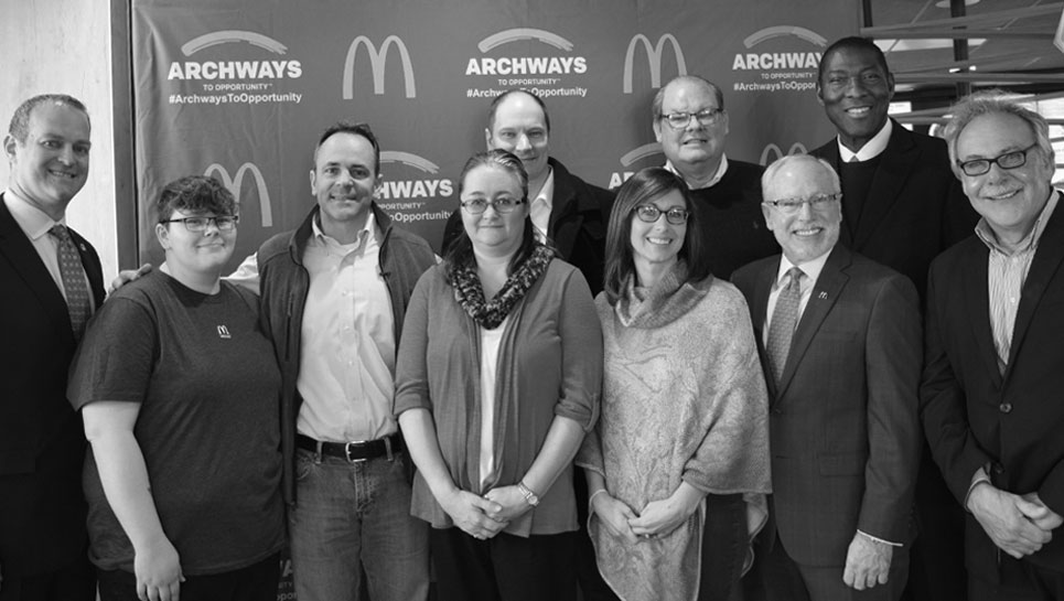 McDonald's restaurants team from the Greater Tennessee Valley